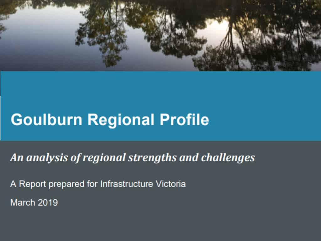 Aither Goulburn Regional Profile March 2019