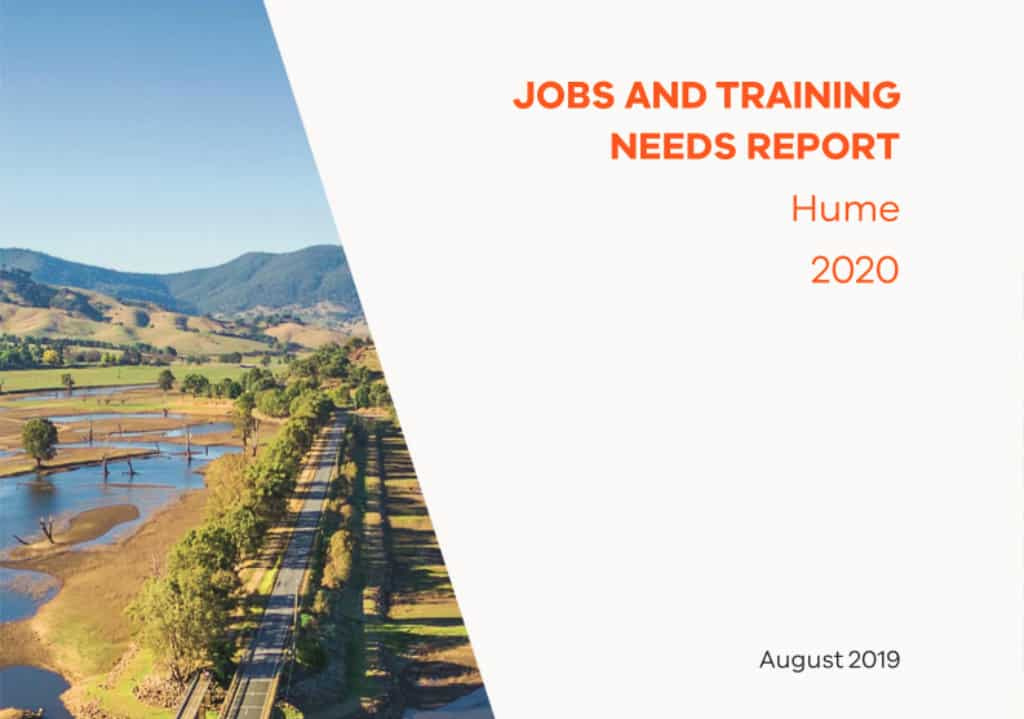 Hume Jobs and Training Needs Report