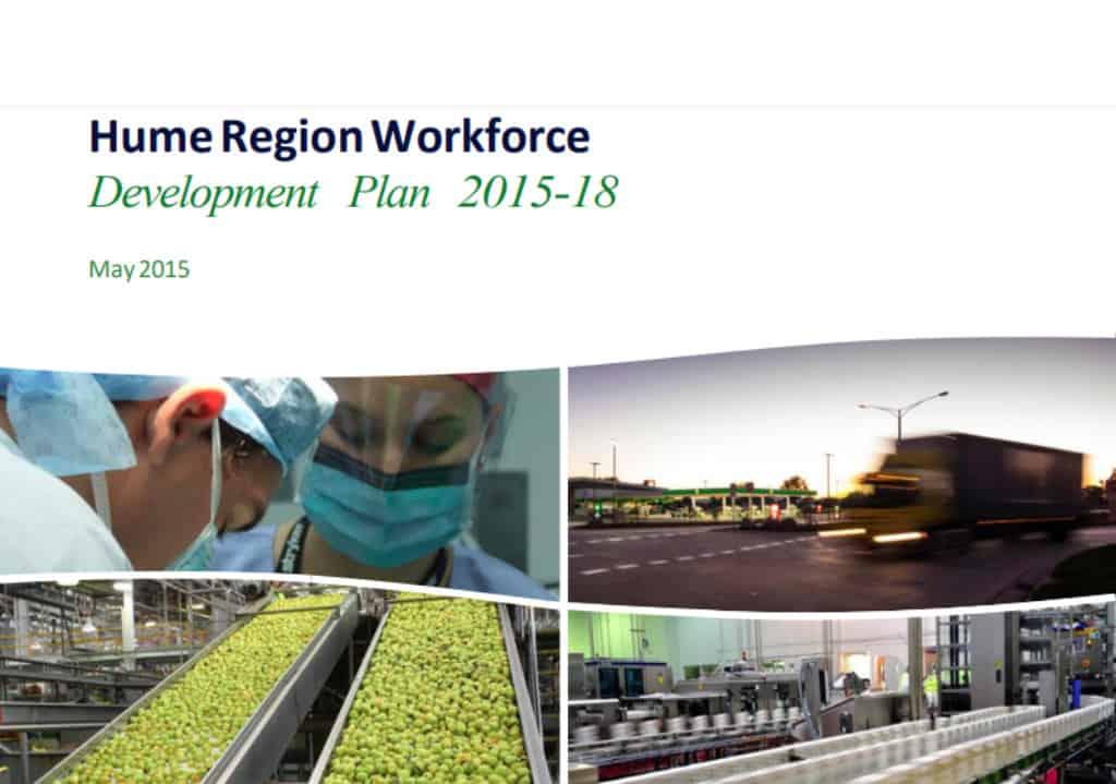 Hume Region Workforce Development Plan