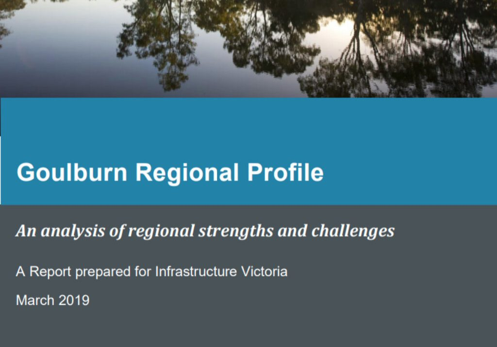 Aither Goulburn Regional Profile March 2019