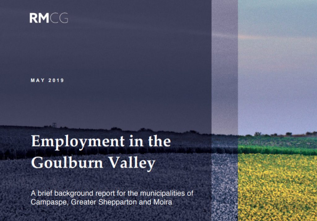 RMCG Employment in the Goulburn Valley