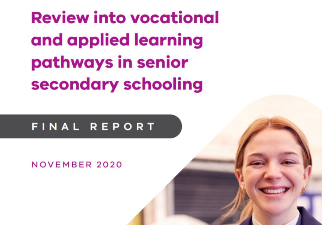 Review into vocational and applied learning